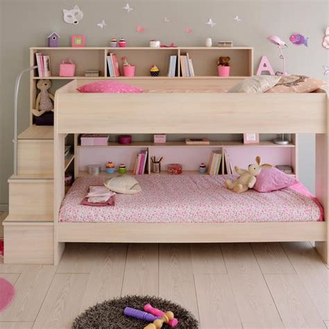 Parisot Bibop Bunk Bed Parisot Acacia Bibop Bunk Bed With Optional Drawer Bed