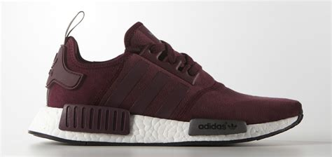 Adidas Nmd R1 Maroon Bergundy the adidas nmd r1 runner is available in