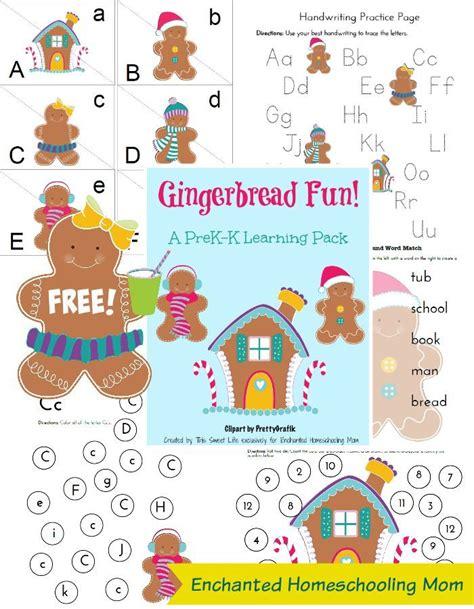 gingerbread man printable pack gingerbread learning pack gingerbread and learning