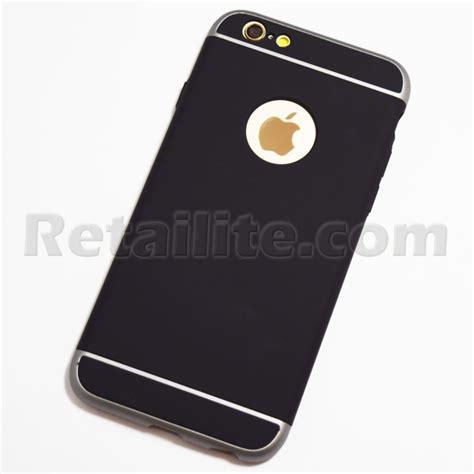 black ultra slim shockproof iphone  iphone  hard case