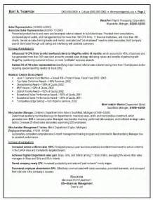 Resume Sles Telemarketing Sales Representative Outside Sales Resume Template Resume Builder