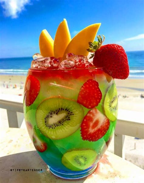 fruity drinks twisted mermaid rum bowl top shelf pours