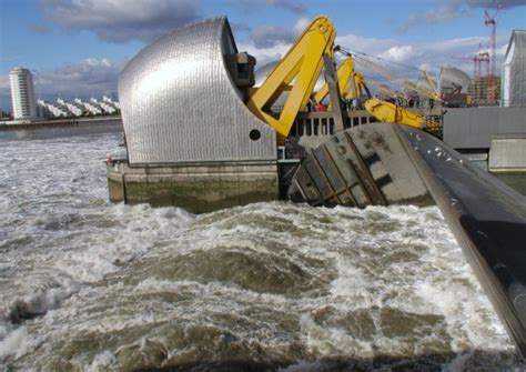 thames barrier video youtube thames barrier reaches limit london assembly warns