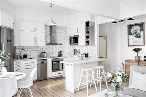 decoracion pisos cocina abierta en un piso peque 241 o tienda decoraci 243 n