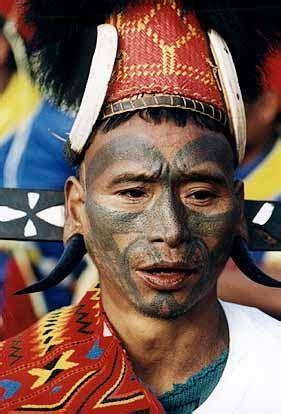naga tribe tattoo antique vs art burma naga konyak or wancho tribe