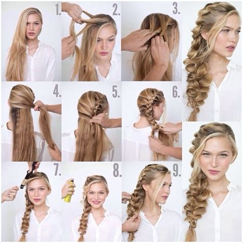 how to do plait hairstyles how to make romantic loose side braided hairstyle fab