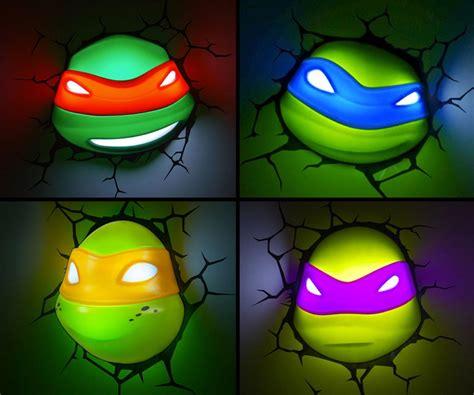 teenage mutant ninja turtles light tmnt nightlights dudeiwantthat com