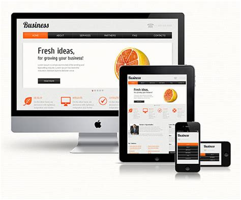 Responsive Design Template 10 premium and fully responsive web templates from