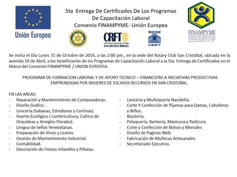 capacitacion para invitacion invitaci 243 n v entrega de certificados finyme