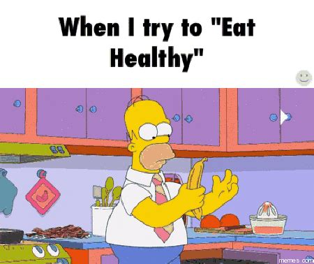 Eat Healthy Meme - when i try to eat healthy memes com