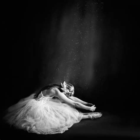 Drawing In Photography by Photography Black And White Ballerina Ballet
