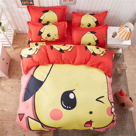 pokemon comforter queen online buy wholesale pokemon duvet cover from china