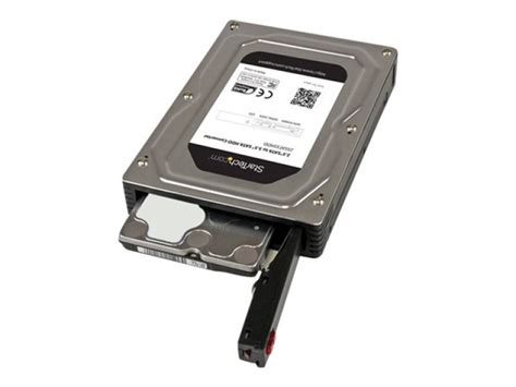 Hdd Enclosure Harddisk 25 To 35 Inch startech 2 5 inch to 3 5 inch sata aluminum drive