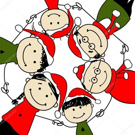 clipart famiglia buon natale illustrazione di famiglia felice per il