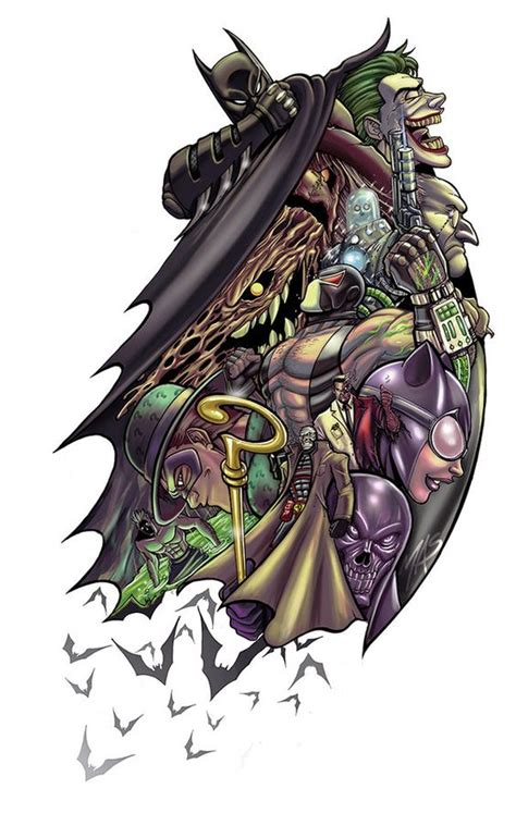 batman tattoo art pinterest the world s catalog of ideas