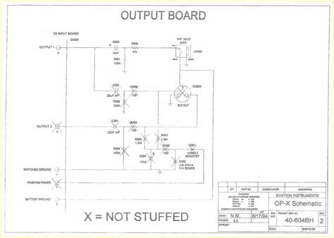 ovation wiring diagram wiring push pull