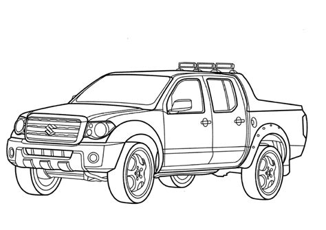 coloring pages with cars and trucks 1950s cars trucks free coloring pages