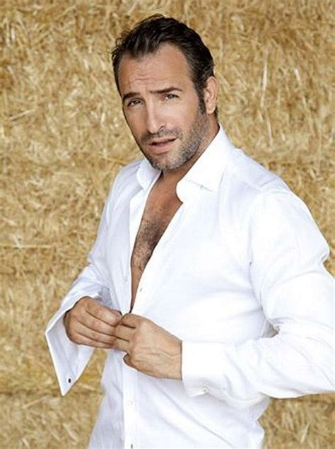 jean dujardin young a man in a white button down shirt one of my favorite