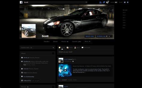 themes facebook chrome facebook theme dark minimalist black theme by everplex on
