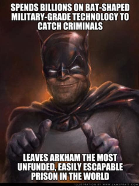 Funny Batman Meme - 31 batman memes that are so dark even knights will rise