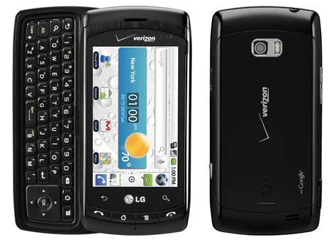 android lg lg ally vs740 3g qwerty messaging android smartphone verizon black fair condition used