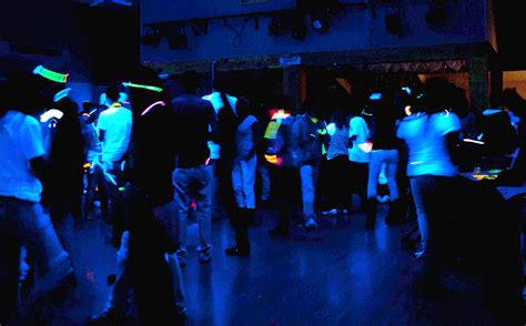 cool black light rooms friday activities