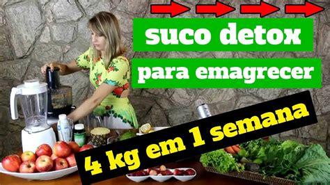Suco Detox Para Emagrecer Rapido by Suco Detox Para Emagrecer R 225 Pido Perca 4kg Em Uma Semana