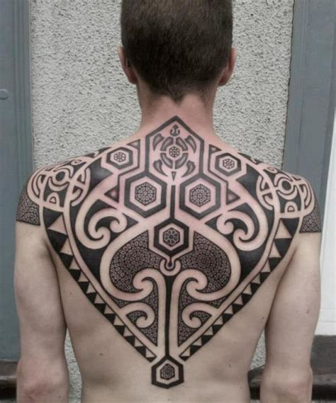 back tribal maori tattoo by mahakala tattoo