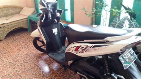 Jual Yamaha Mio J jual mio j 2012 warna putih jual motor yamaha mio