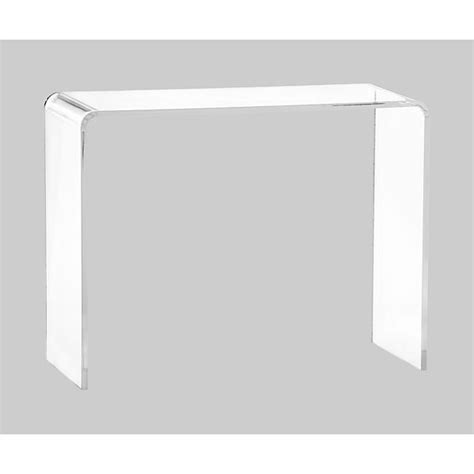 Peekaboo Clear Coffee Table Peekaboo Clear Console Table
