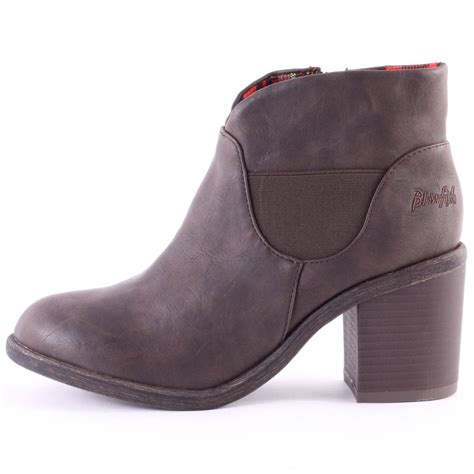 blowfish montley womens ankle boots in brown