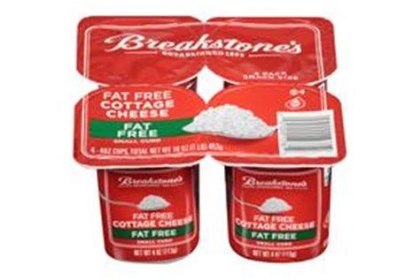 breakstone s small curd free cottage cheese 16 oz tub