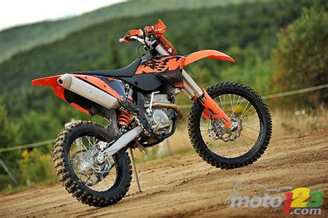 Ktm 250 Xcf Review Photos 2009 Ktm 250 Xcf W Review