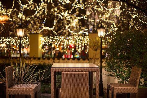 Restaurant Outdoor Lighting Light Installation For Restaurants