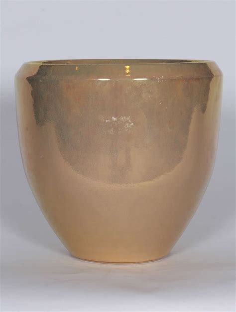 Ceramic Planters For Sale Gold Ceramic Planter For Sale At 1stdibs