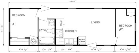 one bedroom trailer floor plans studio design