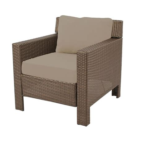 Patio Lounge Chair Cushions Hton Bay Beverly Patio Seating Lounge Chair With Beverly Beige Cushions 65 9102331b