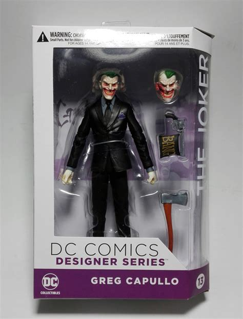 Mainan Figure Designer Series Greg Capullo The Joker aliexpress buy dc comics designer series dc