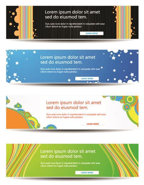 website banner design templates web banners templates 5 designers revolution premium vector stock resources design elements