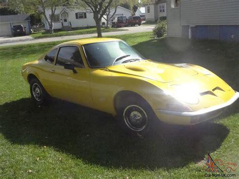1971 Opel Gt by 1971 Opel Gt Quot No Reserve Quot
