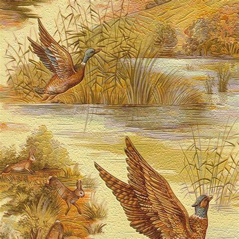 rasch wallpaper rasch mallard and pheasant wallpaper colour rasch from i