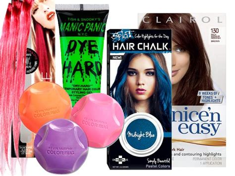 hair coloring products 1000 ideas about temporary hair color on
