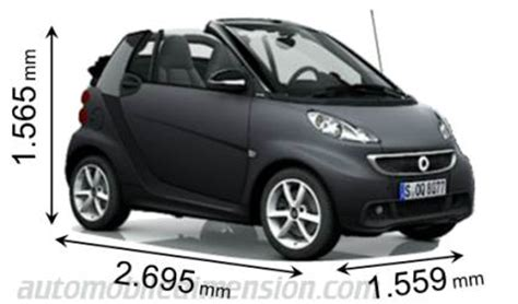 what is the length of a smart car city car smart fortwo adverts rival cars in terms of