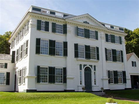 federal style the barrett house c 1800 also known as forest hall is a