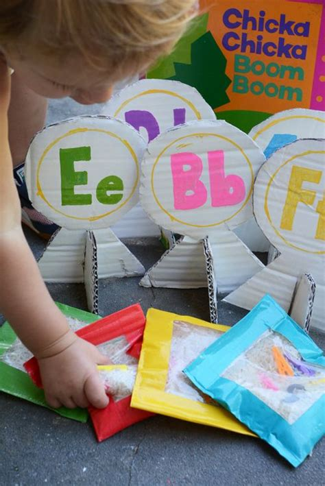 alphabet bean bags activities 27 best images about chicka chicka boom boom on