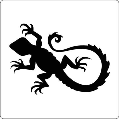 amazing stencils cool lizard stencil