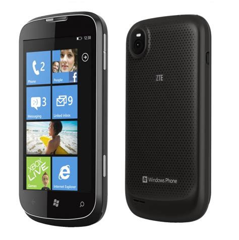 android zte phone zte wp7 connect