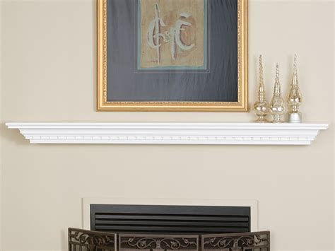 wedgewood w728 wood fireplace mantel shelf