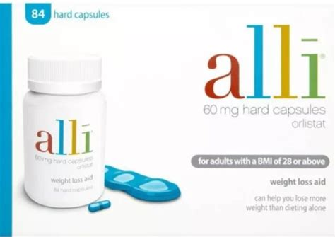 alli 84 capsules 60mg orlistat for sale in tallaght