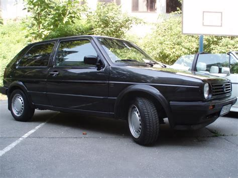 black volkswagen golf volkswagen golf mk2 black